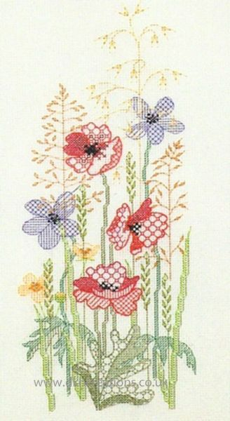 Seasons Panels Summer Cross Stitch Kit